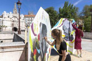 La Fundación VIII Centenario de la Catedral. Burgos 2021 convoca el primer Certamen mural De puente a puente