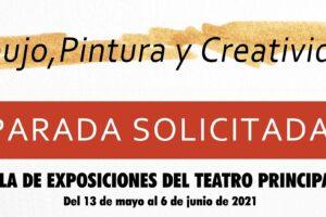 AFALVI y la UNIPEC organizan la exposición colectiva «Parada solicitada» en la sala de exposiciones del Teatro Principal.