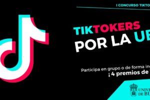 La Universidad de Burgos convoca el I Concurso Tiktokers por la UBU