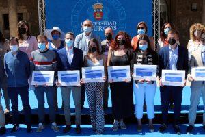 La Universidad de Burgos entrega Premios y Distinciones en el Patio de los Comendadores del Hospital del Rey