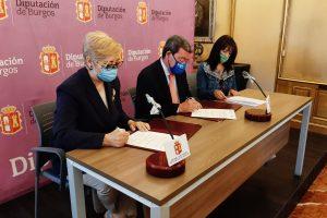Prórroga del covenio de colaboración entre la Diputación Provincial de Burgos y la Asociación Párkinson Burgos