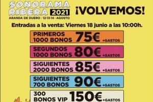 Sonorama Ribera anuncia el cartel de su próxima edición