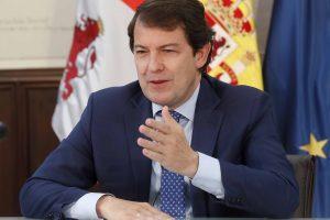 Mañueco defiende que los Fondos Europeos deben servir para reequilibrar el territorio y exige un reparto justo para que lleguen a la España de interior