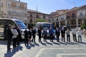 La Junta pone en marcha el servicio de bono rural del transporte a la demanda para las 28 localidades de la zona burgalesa de Roa de Duero gratuito para los usuarios