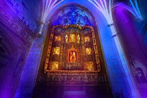 Endesa permitirá vivir una experiencia inmersiva de luz, sonido y videomapping en la  Catedral de Burgos