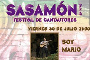 El próximo viernes 30 de julio llega su fín el primer Festival de Cantautores Sasamón en Vivo