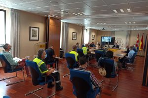 La Subdelegación acoge la reunión del operativo de seguridad de la XLIII Vuelta Ciclista a Burgos