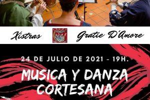 Música y danza cortesana en el Museo de Burgos