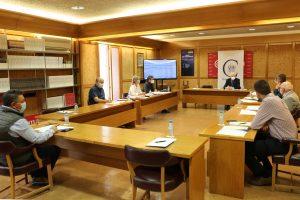 La Fundación VIII Centenario de la Catedral. Burgos 2021 muestra las cuentas de 2020 a los miembros de su mesa de Transparencia