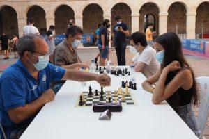 Continúa el VI Circuito Burgalés de Ajedrez celebrado en el Torneo de Verano en Briviesca