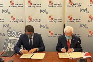 La Junta y Cruz Roja en Castilla y León firman un convenio para desarrollar un proyecto de repoblación forestal para crear sumideros de carbono en parcelas de titularidad autonómica