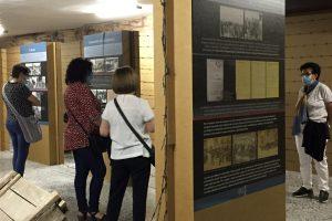 La exposición de Auschwitz en Oña mantiene su buena aceptación por el público