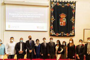 El consejero de Economía y Hacienda de la Junta de Castilla y León y el rector de la Universidad de Burgos han participado en el acto de bienvenida del I Congreso Iberoamericano de Estudiantes de Economía y Empresa