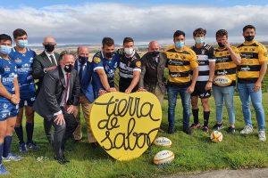 Tierra de Sabor arrima el hombro al deporte, a través del rugby, para promocionar los alimentos de calidad de Castilla y León