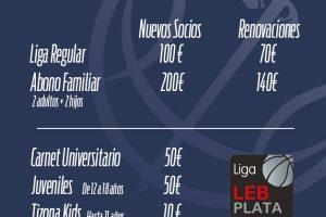El Tizona lanza la campaña de abonados para la temporada 2021-2022