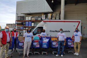 La Fundación Solidaridad Carrefour hace entrega a Cruz Roja en Burgos del material escolar donado a favor de la infancia en dificultad de Burgos