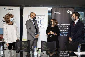 La Federación de Comercio de Burgos firma convenio con el Banco Sabadell