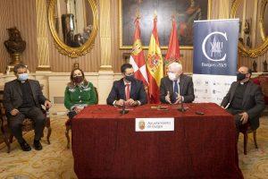 El Ayuntamiento de Burgos firma un contrato de patrocinio con la Fundación VIII Centenario de la Catedral por 1,5 millones
