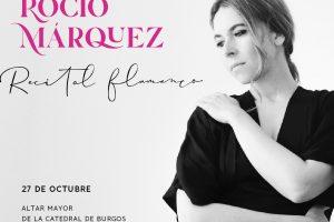 La cantaora Rocío Márquez y el compositor Amancio Prada llevan su música a la Catedral de Burgos