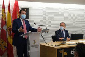 Mañueco defiende la participación de todos en la mejora de la sanidad y pide un Pacto a nivel nacional