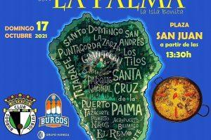 Burgos solidario con La Palma a través de una paella
