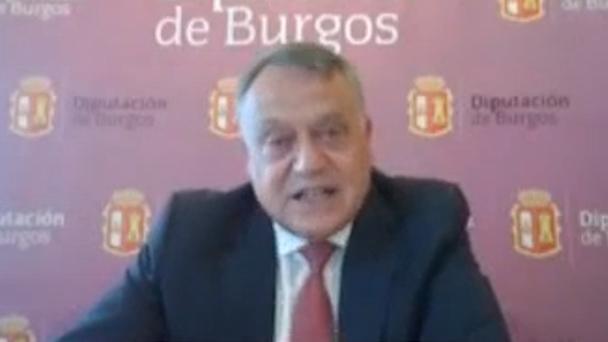 Lorenzo Rodríguez vicepresidente de la Diputación de Burgos presenta lo más destacado en la Junta de Gobierno
