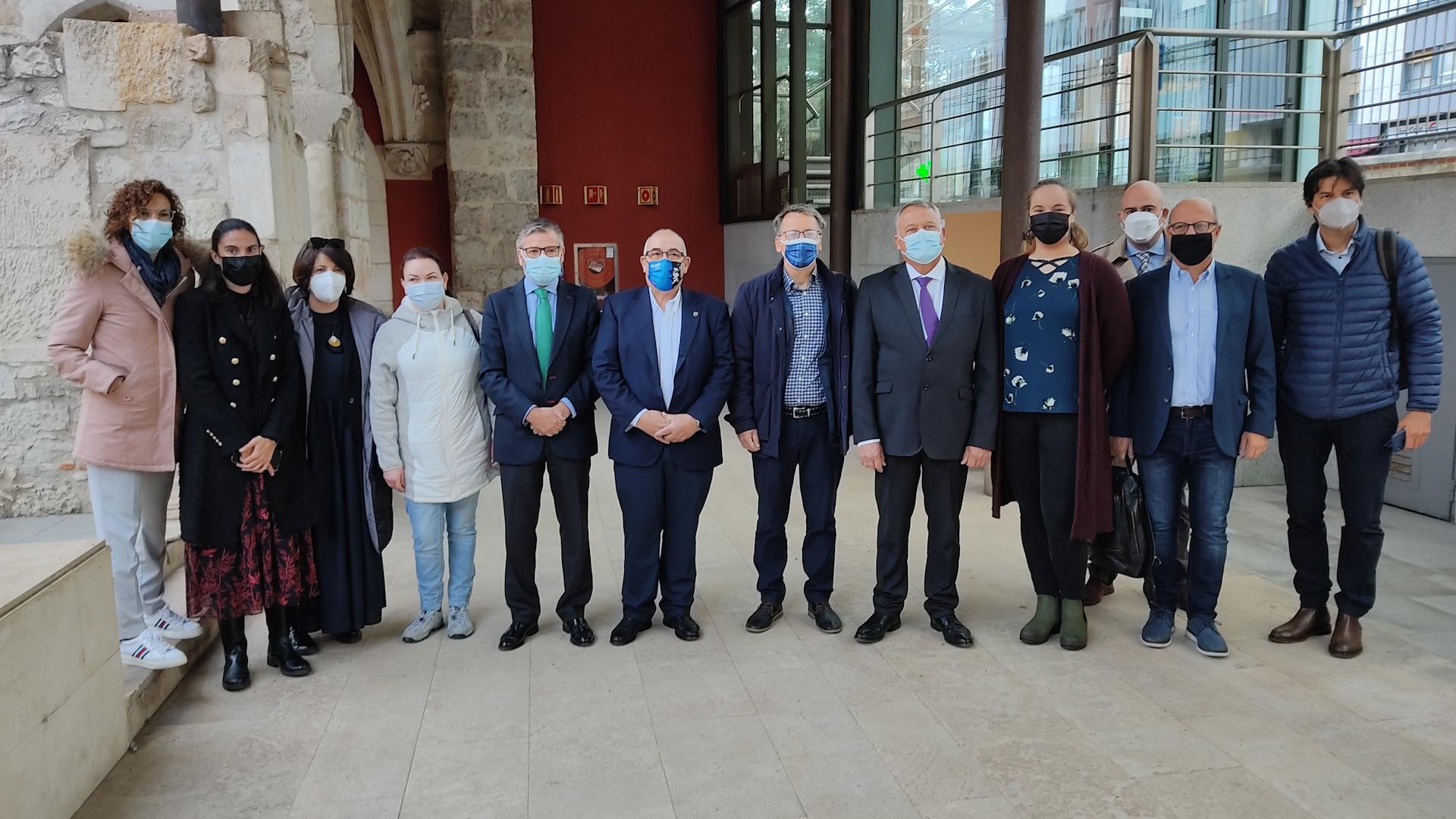 En el Monasterio de San Agustín se inaugura el proyecto europeo Agro SE-VI