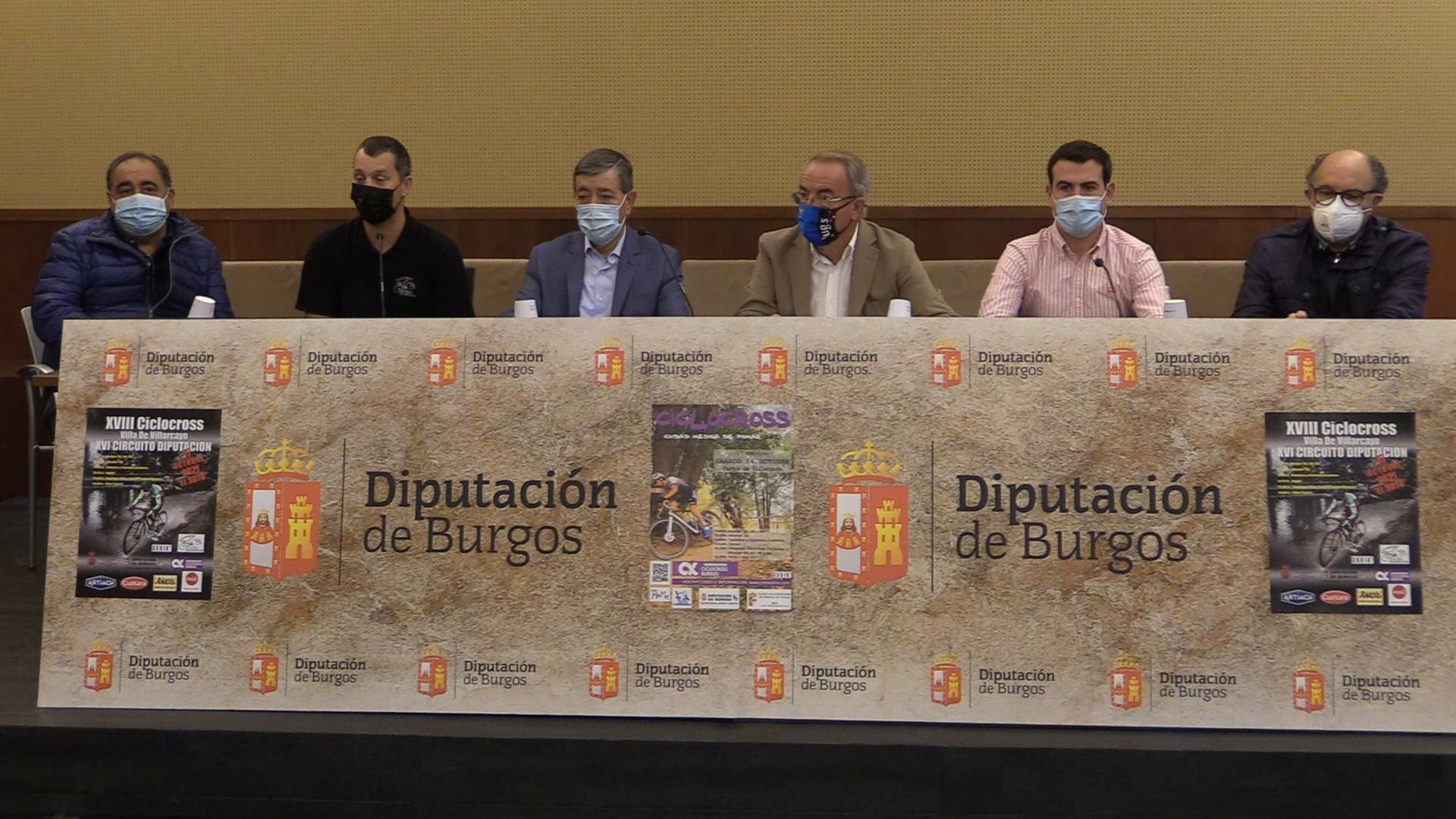 Se presenta el XVI Circuito Nacional de Ciclocross Diputación de Burgos