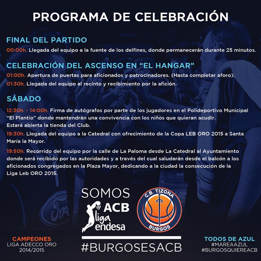 programa celebración redes