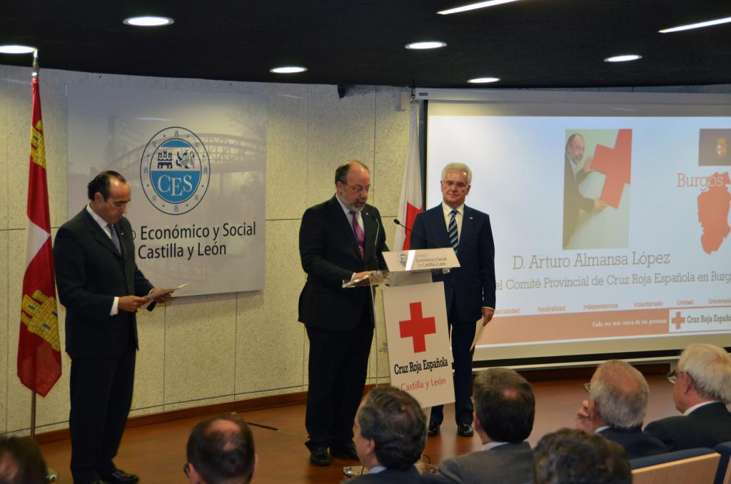 Arturo Almansa Presidente Provincial CRE en Burgos