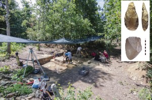 vista-de-la-excavacion-de-as-carvalhas-y-piezas-achelenses-de-as-pedreiras